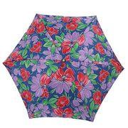 【日本製】【雨傘】【折りたたみ傘】超軽短サテンプリント日本製ミニ折畳傘