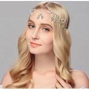 おしゃれお花デザインダイヤ付き ヘアアクセサリー - ヘアバンド ヘアアクセサリー ピン留め   全1色