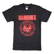 ロックTシャツ Ramones ラモーンズ 赤ロゴ
