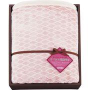 東洋紡 ずっとさわっていたくなる すべふわ国産毛布 ピンク 8572