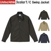 T/C スウィングジャケット 5枚売り 裏地付/アウター/無地/秋冬/大きいサイズ有/ミリタリー