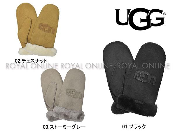 S) 【アグオーストラリア】 17370 ロゴ ミトン グローブ 手袋 全3色 レディース