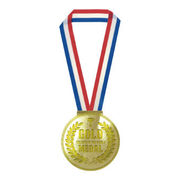 (低額ノベルティグッズ)(400円以下)金メダルメモ 60枚 JYG01-01