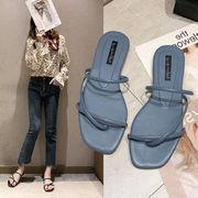 サンダル スリッパ 靴 シューズ ビーチサンダル 無地 シンプル ファッション フラット