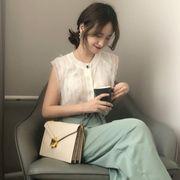 春夏 新しいデザイン ファッション 女性服 レース クロシェ 中空 ボトムシャツ 薄いス
