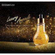 CCLIMGLAM 韓国直送 韓国コスメ 24K ゴールドラグジュアリーアンプル 高濃縮美容液セラム