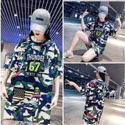【大きいサイズM-3XL】【春夏新作】ファッションTシャツ