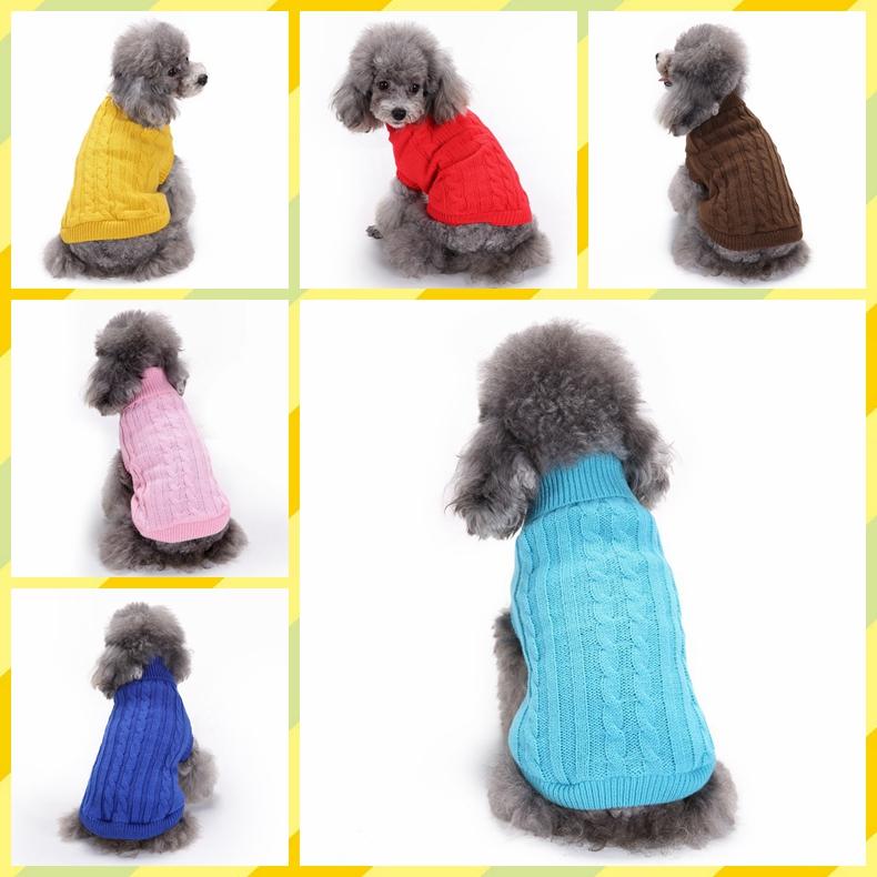 秋冬新作 ペット用品 犬猫の服 人気 ニット 小中型犬服 犬猫洋服 ドッグウェア