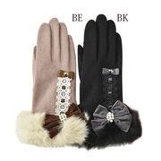 アンティークリボン手袋