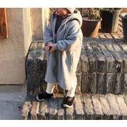 パーカコート 女の子 男の子 長袖 子供服 キッズ服 冬物 カジュアル系 厚手