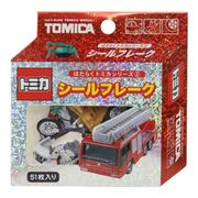 【フレークシール】トミカ ミニシールセット 消防車 TOMICA