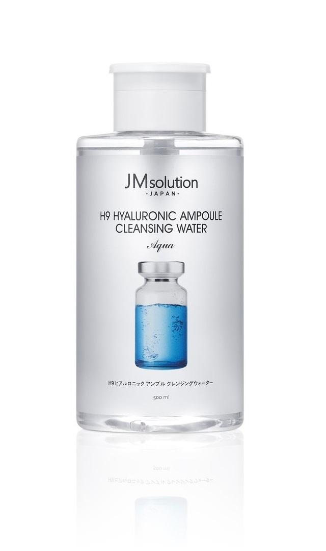サン・スマイル JMsolution H9 ヒアルロニック アンプル クレンジングウォーター アクア 500ml