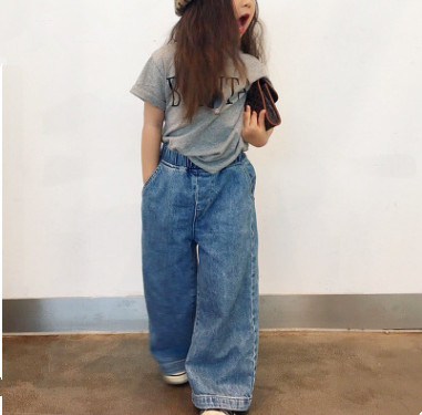 新入荷★キッズ女の子★ボトムス ★ジーンズ★デニムズボン 100cm-150cm