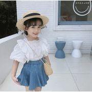 2020春夏新作 2点セット 女の子 tシャツ+スカート 子供服 キッズ 韓国ファッション