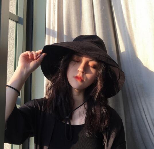 2020新作 夏 帽子 ハット 漁夫帽 レディース 紫外線対策 出かけ オシャレ 純色 畳可能