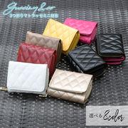 【即納】Gucciny&Co【マトラッセ キルティングミニウォレット】小さな財布
