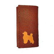 ◆本革6連キーケースとチャームのセット◆犬種カラーを選択可◆犬種全5色 プードル
