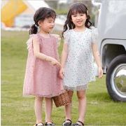 ワンピース  半袖 プリンセス キッズ 女の子 韓国子供服 2020新作 SALE ファッション m14791