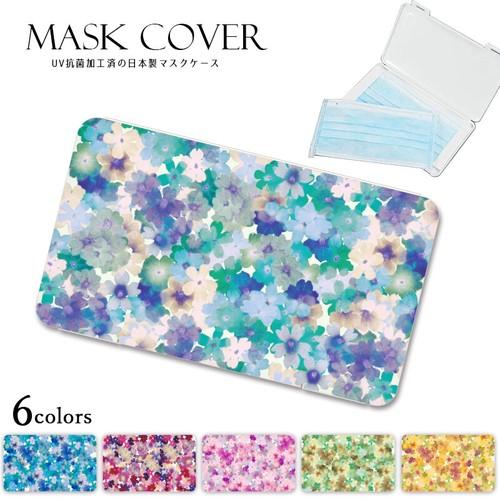 《予約販売20年8月下旬発送予定》《日本製》花柄 マスクケース マスクカバー