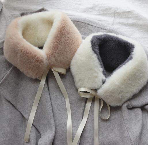 スカーフ マフラー 襟巻き 秋冬新作 ファッション小物 ファー 付け襟