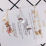 デコパーツ チェーンチャーム 蝶々 ブライダル バタフライ ハンドメイド材料 アクセサリーパーツ DIY