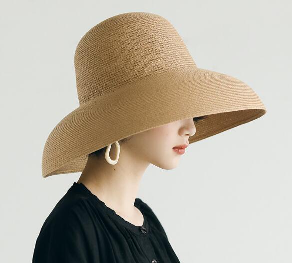 帽子 キャペリン レディース ファッション 日よけ カンカン帽 麦わら帽子