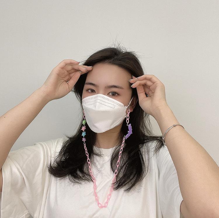 マスクチェーン マスクネックレス 落下防止 首掛け マスクストラップ マスクコード メガネチェーン