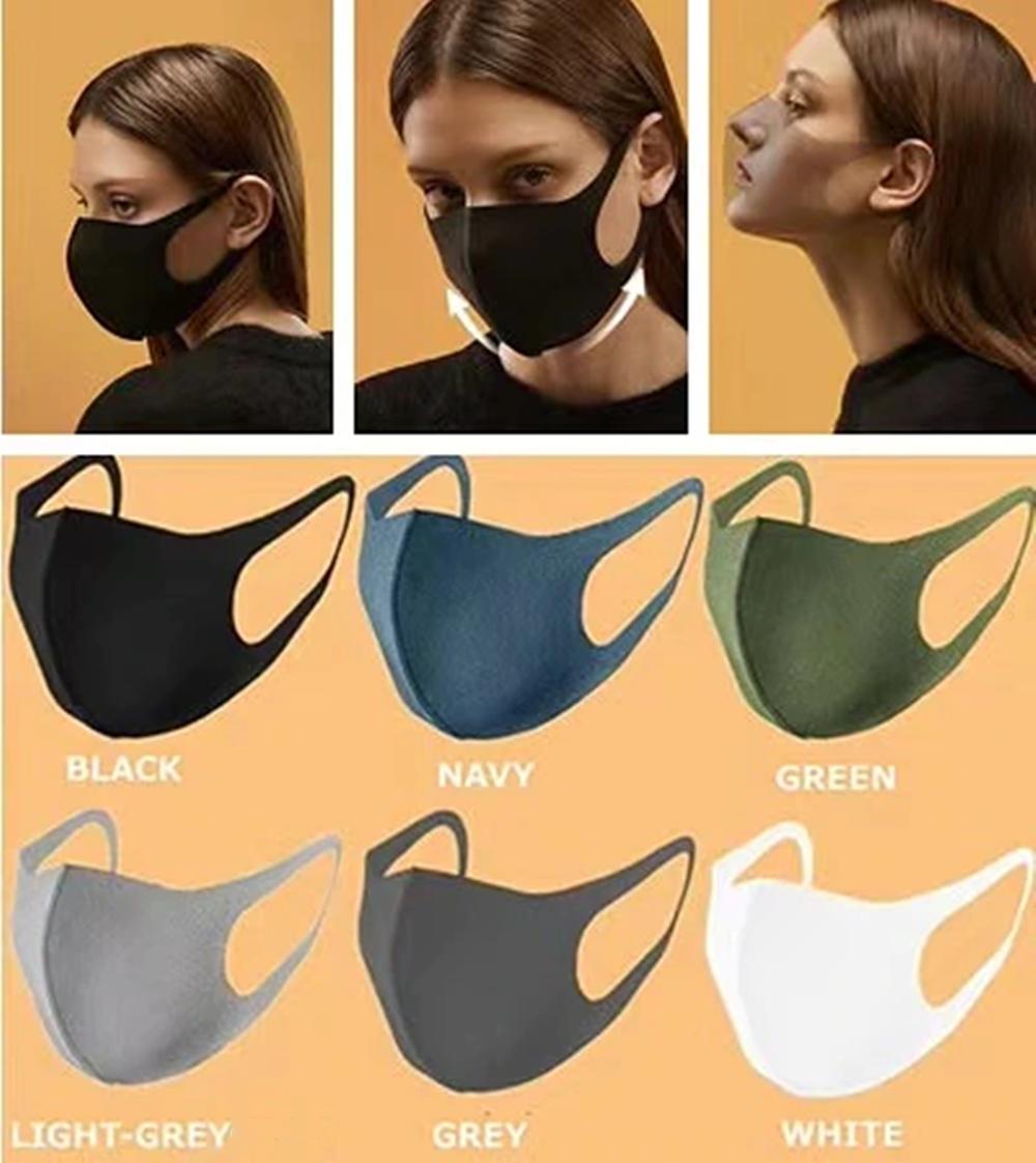【即納】 洗って使えるマスク 夏マスク ウレタンマスク 予防 花粉症  大人用 高密度 通気性 伸縮性