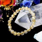 2A級 ルチルクォーツ 針水晶 7mm ブレスレット 天然石 パワーストーン 丸玉 数珠