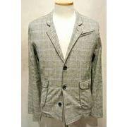 【当店だけのオリジナル商品】綿麻タータンチェックの背抜き2WAYジャケット