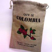 ジュート コーヒービーンポーチ COLOMBIA(S)