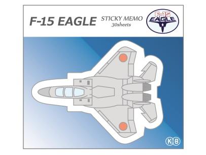 KBオリジナル アイテム 付箋 ダイカット F-15