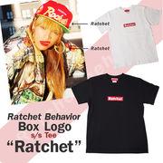 "RatchetBehavior Box Logo s/sTee ""Ratchet"" ラチェット ボックスロゴ S/STee"