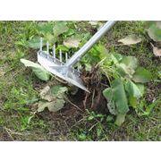 家庭菜園に!雑草処理、畑を耕すもこれ1本/溝掃除にも/万能クワ草と~る/安心のステンレス製