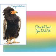 Stockwell Greetings グリーティングカード お祝い用 鳥