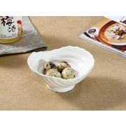 【強化】 5号渦巻小鉢   おうちカフェ/鉢/小皿/小付/珍味入/白食器