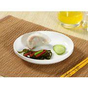 【強化】 サラダ皿(7号)  カレー皿/ おうちカフェ/白食器