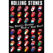ポスター The Rolling Stones (International Tongues)