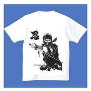 FJK 日本 お土産 Tシャツ 浮世絵 Sサイズ (ホワイト)No.26-S