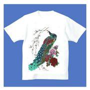 FJK 日本 お土産 Tシャツ 浮世絵 Sサイズ (ホワイト)No.3-S