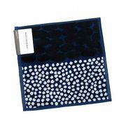 marimekko マリメッコ★ハンカチ★JURMO/blue・white・dark blue