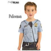 FAUX REAL Toddler Policeman 13482