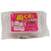使い捨てカイロ ぬくポン(ミニ) ぬくぬくカイロ10個入/日本製
