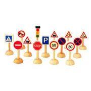 ∩プラントイ【交通標識と信号のセット】