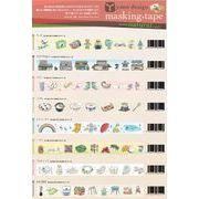 ROUNDTOP yano design マスキングテープ 【2015_10発売】8柄