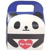 ツイン 『プレゼントなどのラッピングに』 文具シリーズギフトBOX小 ForYouパンダ ブルー GE0592 2B