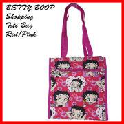 ベティーブープ ショッピング トートバッグ RED/PINK