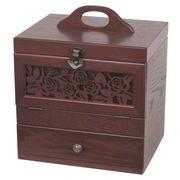 【 木製コスメティックボックス 】 【 アンジェラシリーズ 】