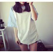 バイカラーTシャツ バイカラーTシャツ 半袖Tシャツ