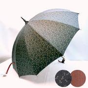 【日本製】【長傘】【雨傘】トンボ&鮫小紋柄両面12本骨手開き晴雨兼用長傘